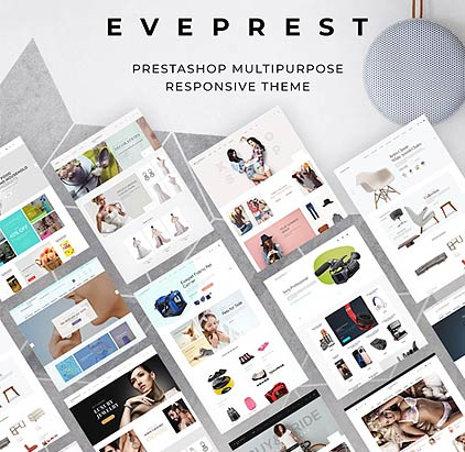 Multipurpose 1.7 & 1.6 PrestaShop template