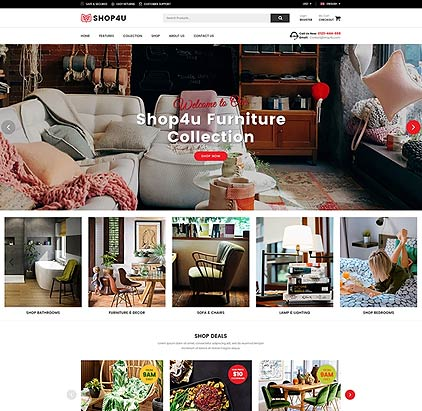 Furniture Responsive Magento 2.x Theme